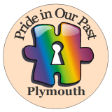 Pride in Our Past rainbow jigsaw logo