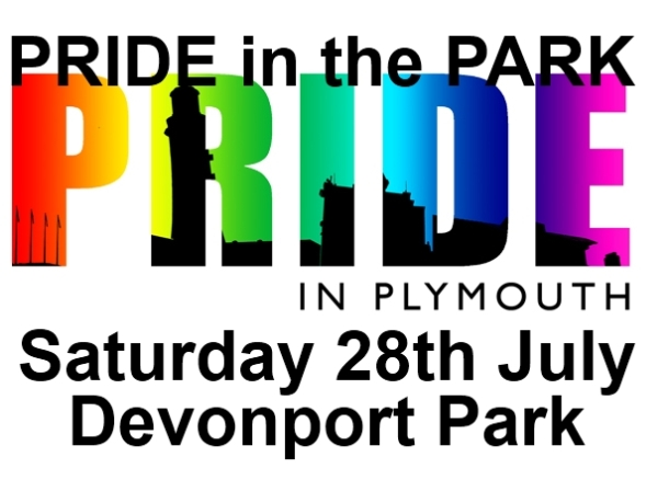 Pride in the Park - Pride in Plymouth logo