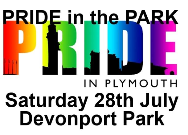 Pride in the Park - Pride in Plymouth logo