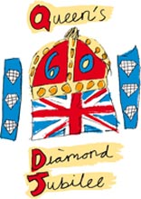 Queens Dimond Jubilee Logo