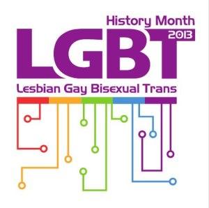 LGBT History Month Logo 2013