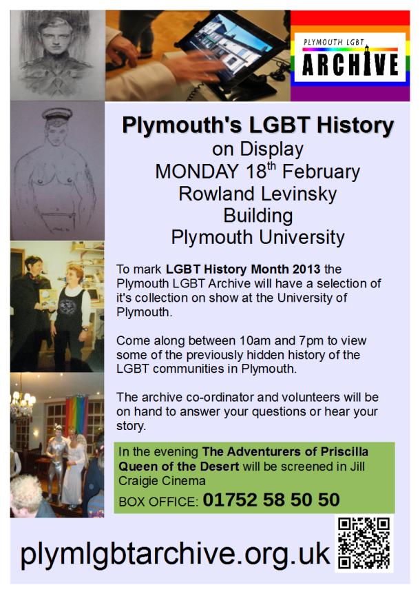 Poster - Display LGBTHM 2013