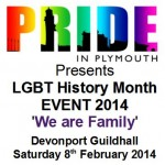 LGBT History Month Event - 'We are Family'