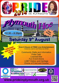 Plymouth LGBT Pride 2014